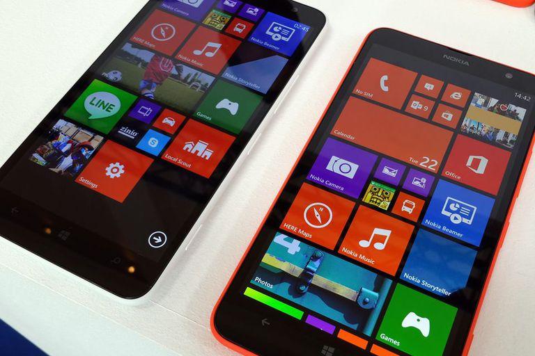 El Nokia Lumia 1320