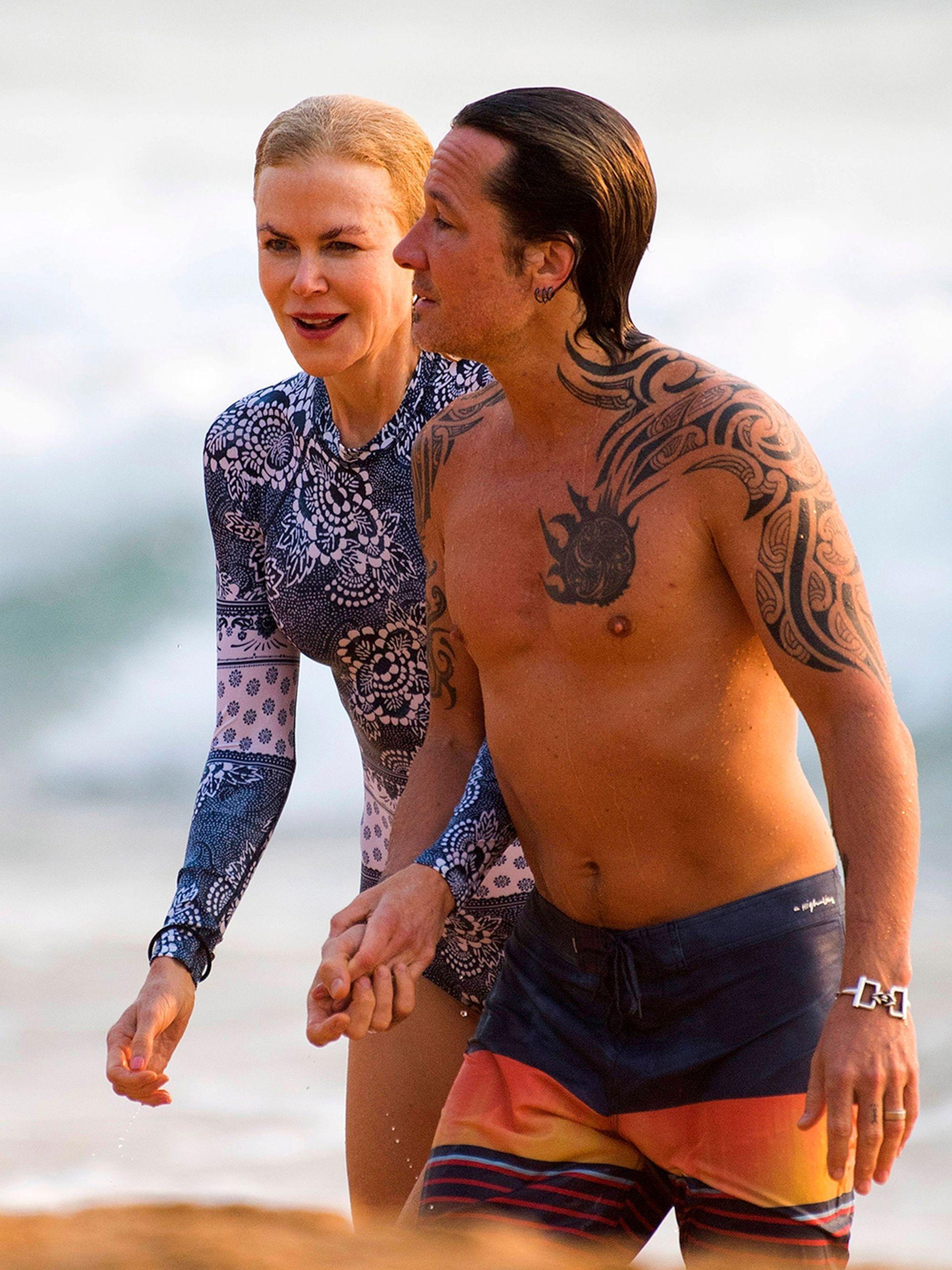 ¡Al agua! Acompañada por su marido, el músico Keith Urban, Nicole Kidman descansa en Australia luego de un 2019 cargado de trabajo