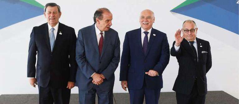 Los cancilleres del bloque anticiparon, ayer, en Brasilia, la reunión de los jefes de Estado