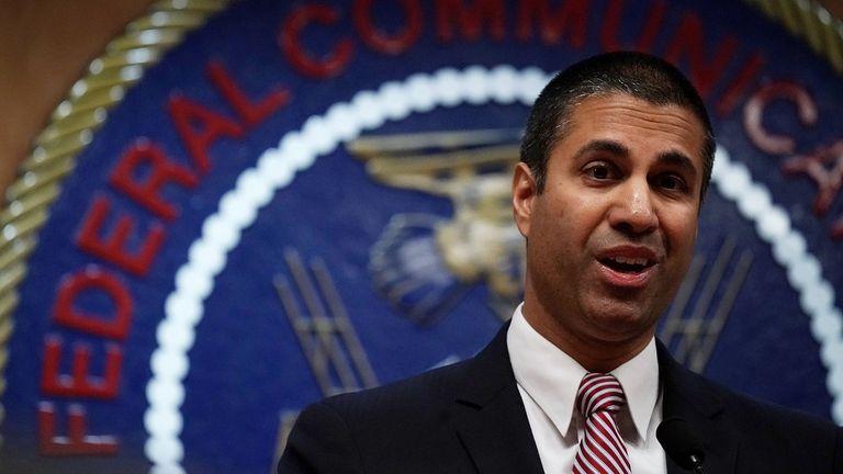 Ajit Pai, el director de la Comisión Federal de Comunicaciones de EE.UU. (FCC), principal promotor del fin de la neutralidad de la red