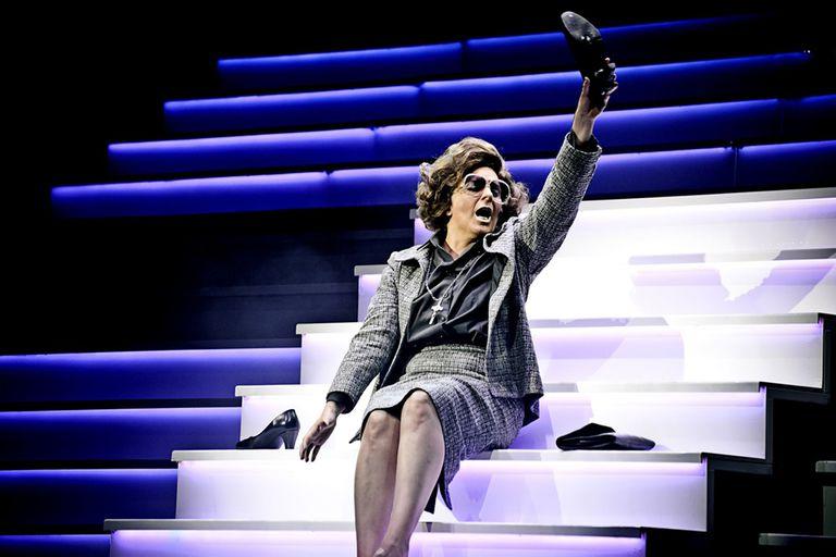 La brillante Karina K, en Yiya, el musical