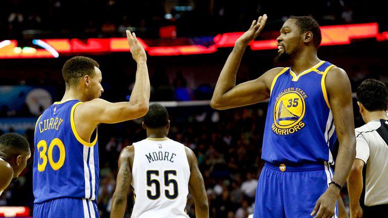Golden State marca el ritmo de la NBA