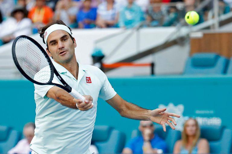 Miami: Federer voló a los cuartos de final mientras los otros top 10 sufren