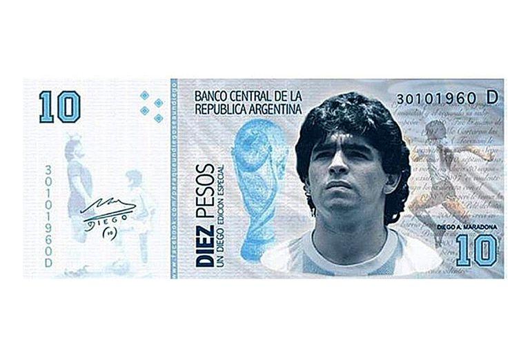 La imagen que circula por redes sociales y que se buscaría replicar en billetes de 1000 pesos