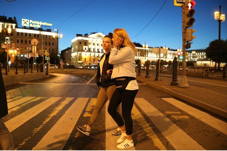 Demasiada claridad en la noche de San Petersburgo