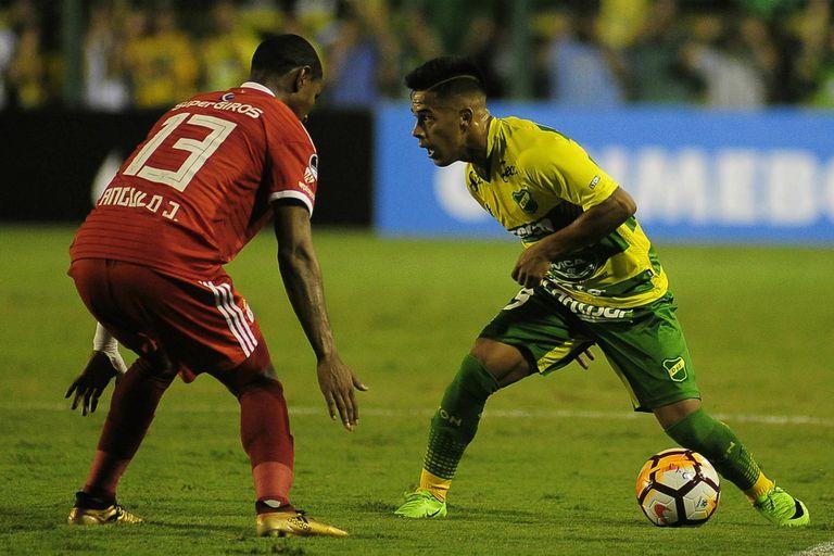 Defensa y Justicia perdió en la Copa Sudamericana ante América de Cali