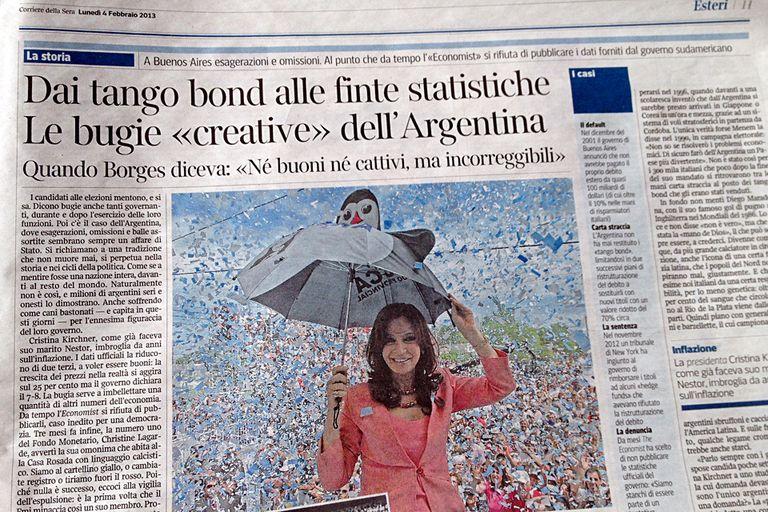 La nota de Corriere della Sera, con duras críticas a la Argentina y sus mentiras