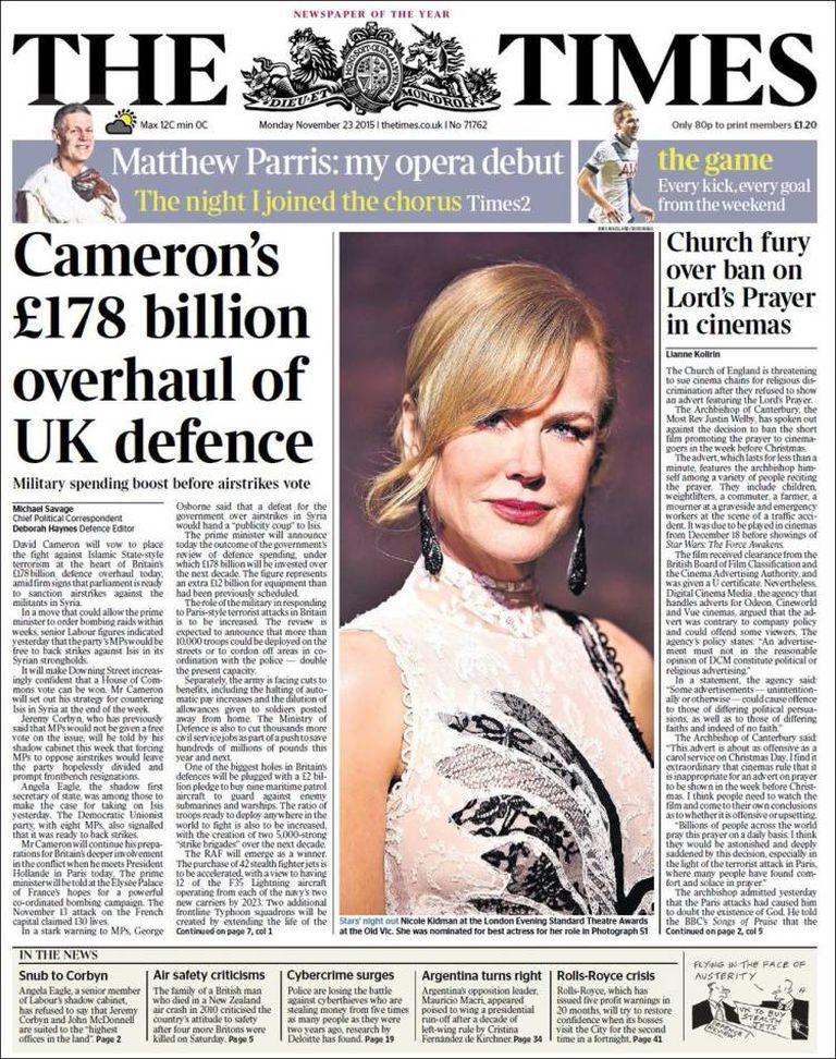 El inglés The Times