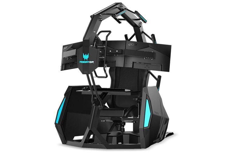 IFA 2019: el mejor sillón gamer ahora también te hace masajes de espalda