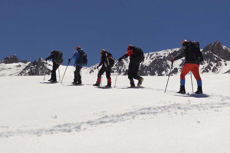 Domuyo, una montaña de casi 5000 metros.