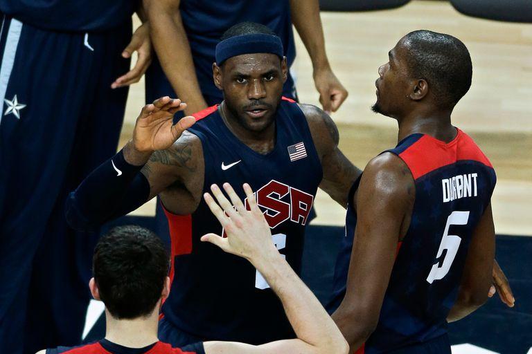 Dream Team: LeBron, Curry y Durant, en la preselección para Tokio