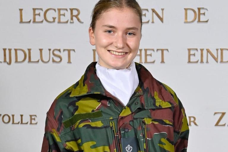 La princesa comenzará su formación táctica a partir del 9 de julio en el campamento militar de Lagland en Arlo