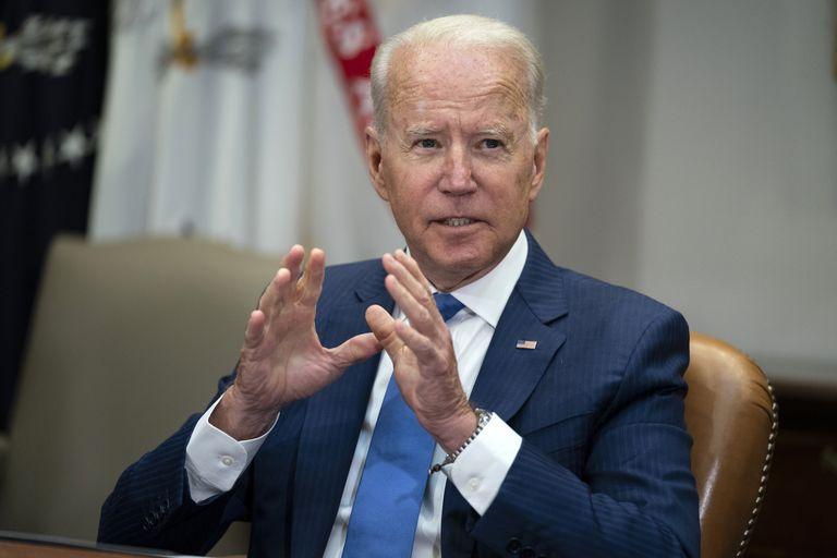 El presidente Joe Biden en la Casa Blanca en Washington