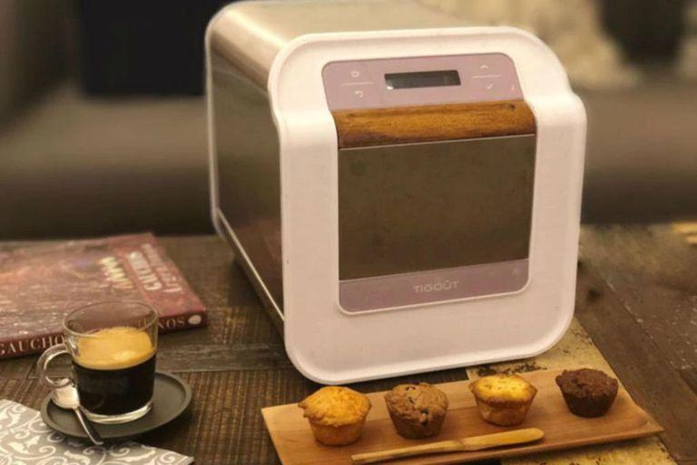 La máquina que creó Córdoba, llamada por muchos la Nespresso de cupcakes