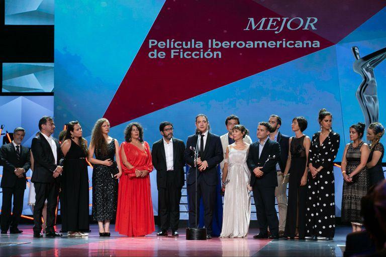 La película de Sebastián Lelio se alzó con el galardón a la mejor producción iberoamericana; Zama obtuvo tres estatuillas, La cordillera un premio, y Julio Chávez fue reconocido por su interpretación en El maestro