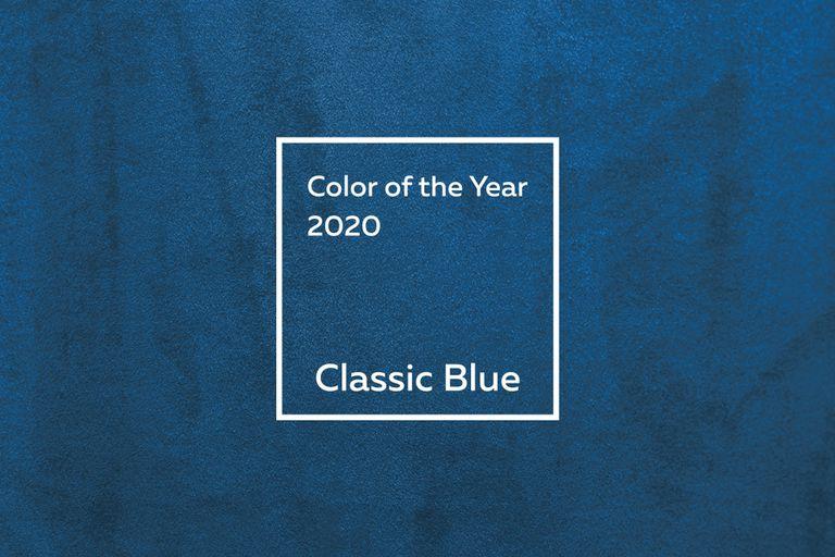 Un tono azul atemporal e imperecedero que destaca por su elegancia y simplicidad