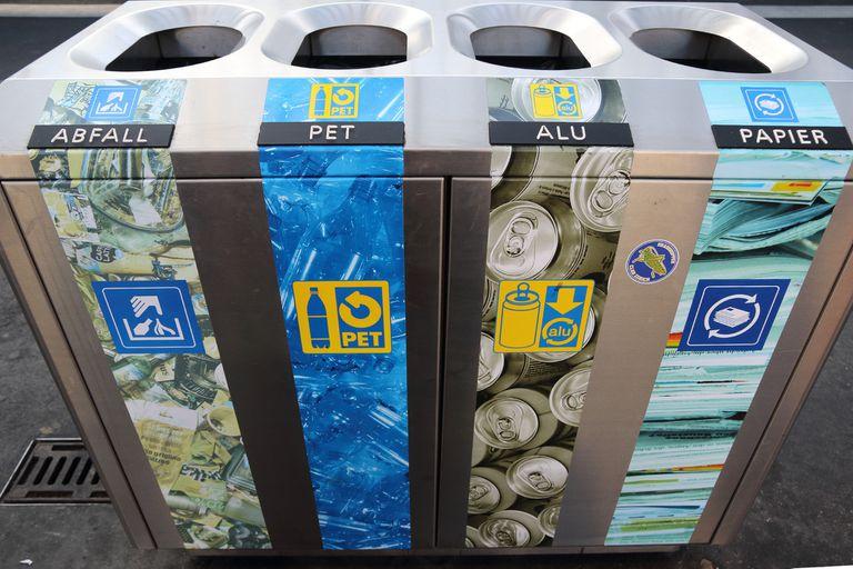 En Suiza, nadie está eximido de clasificar los residuos para su posterior tratamiento