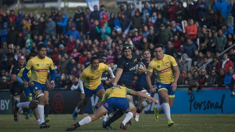 Gran triunfo de Argentina XV en Ushuaia ante Brasil