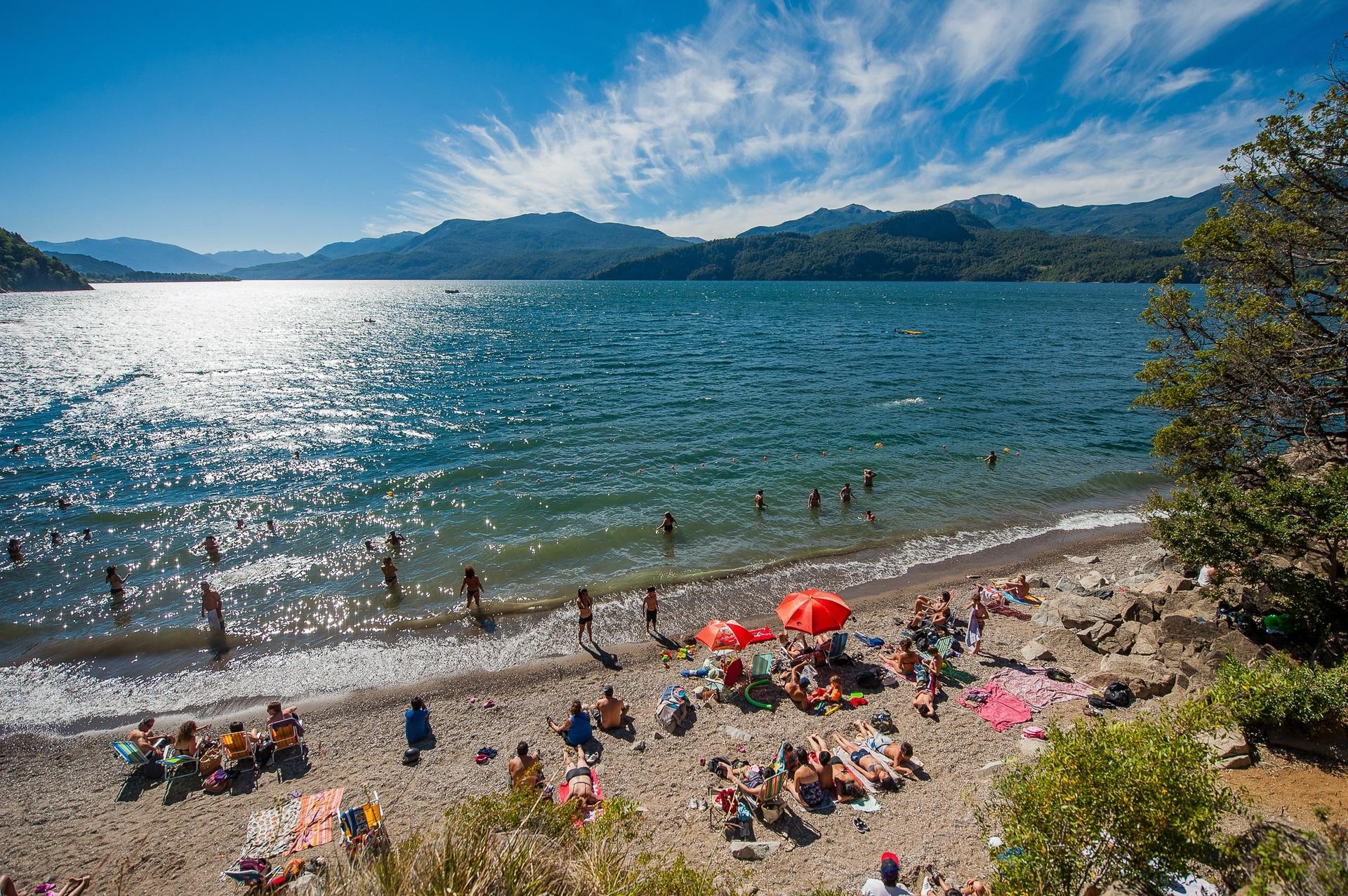 Caritre es una de las playas más concurridas porque está a 5 kilómetros del centro de San Martín
