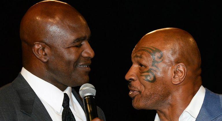Holyfield y Tyson, una pelea que está seguramente más vinculada al show que al boxeo de verdad