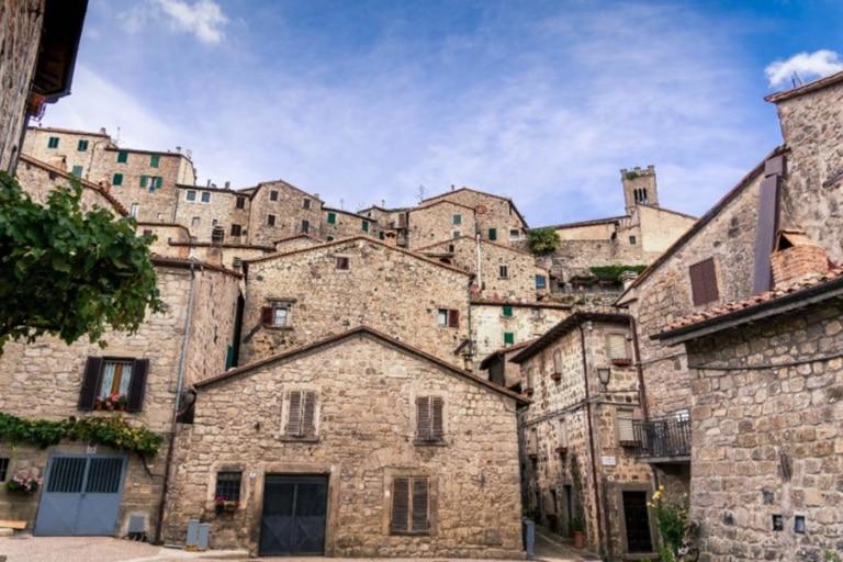 Santa Fiora solo tiene 2500 habitantes