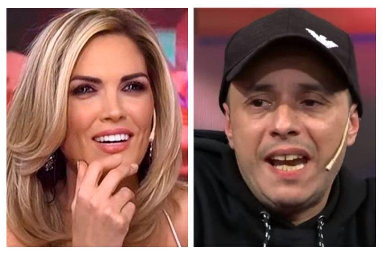 Inesperado: Viviana Canosa sorprendió a El Dipy con un piropo subido de tono