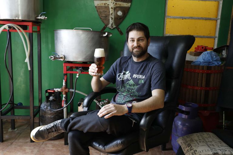 Pablo Cunto expondrá una cerveza con sabor y aroma del cannabis