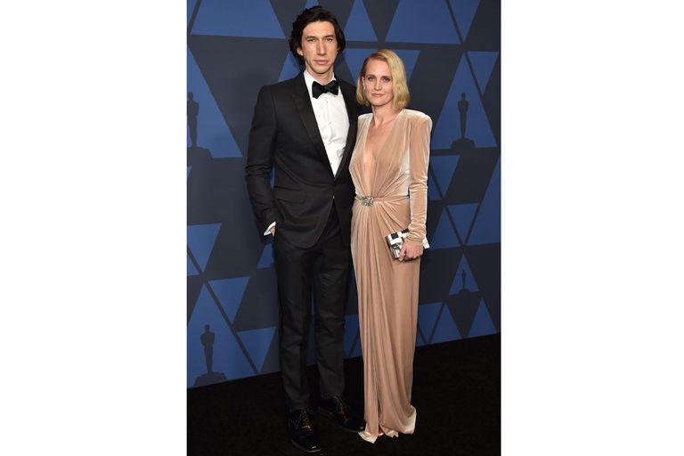 Adam Driver y su esposa Joanne Tucker