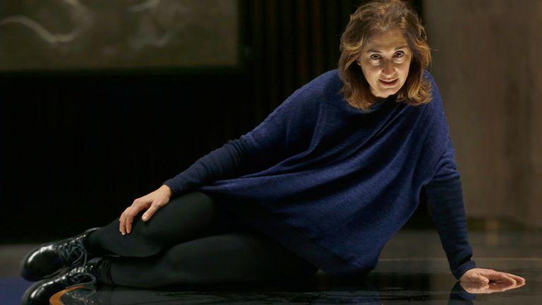 Andrea Garrote, una actriz interesada en la dirección y la dramaturgia