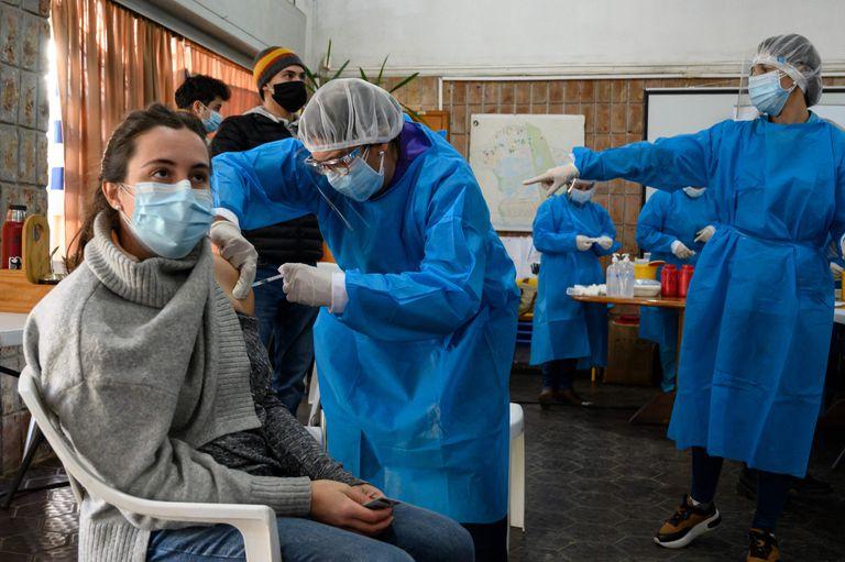 Vacunación en Paso de Carrasco, Canelones