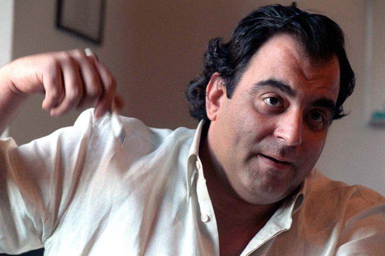 Jorge Lanata en los 90, en días de Hora 25