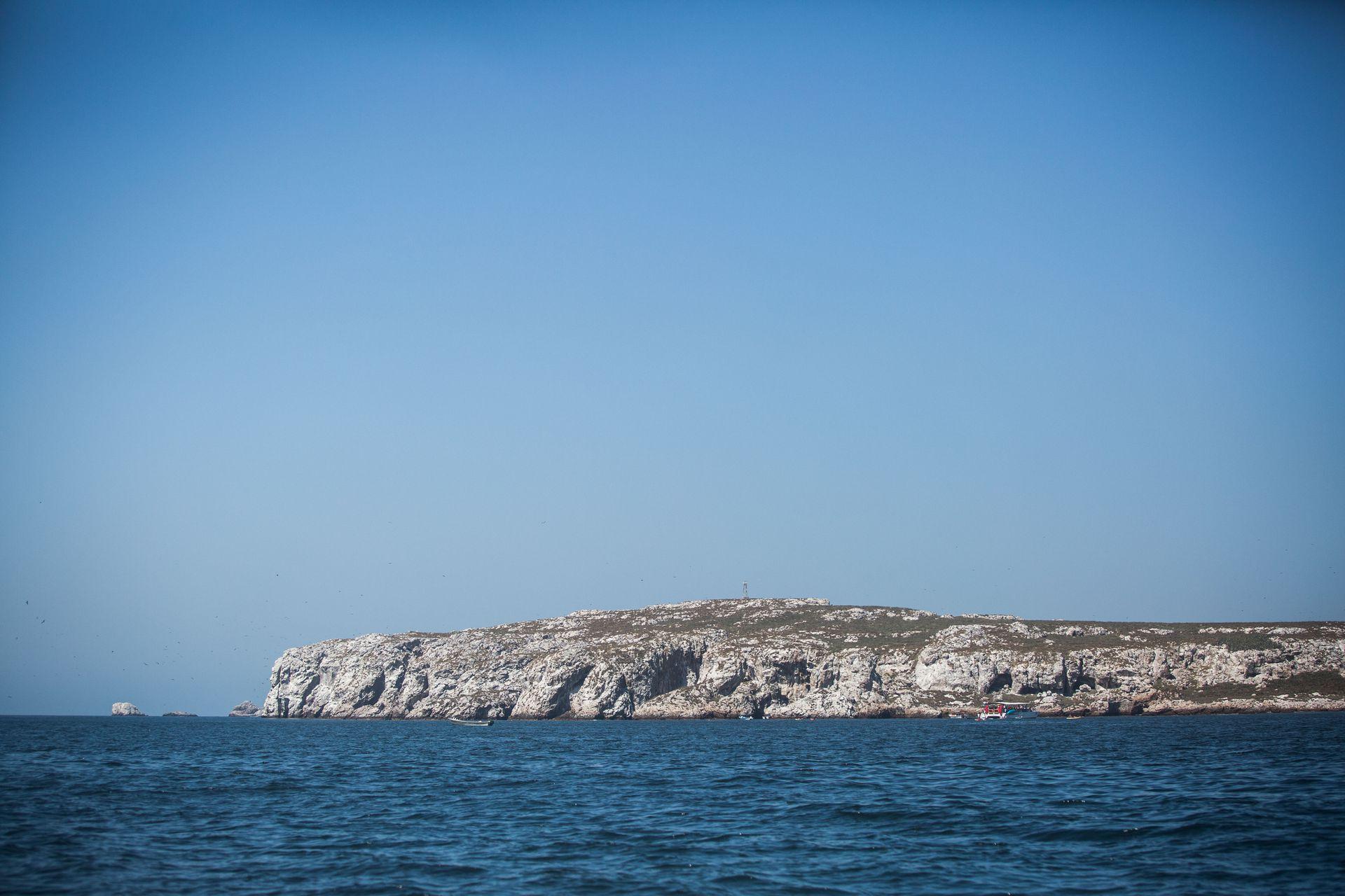Las Islas Marietas, desde la embarcación.