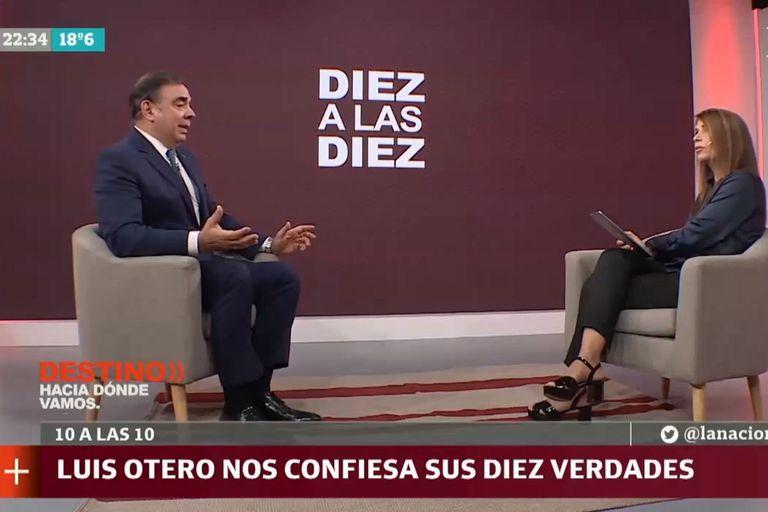 Luis Otero estuvo en Destino y reveló sus diez verdades