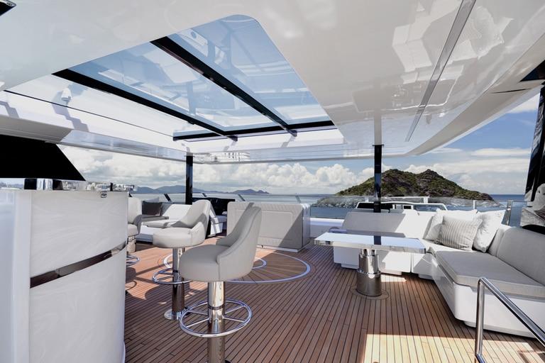 El catamarán tiene capacidad para 12 huéspedes