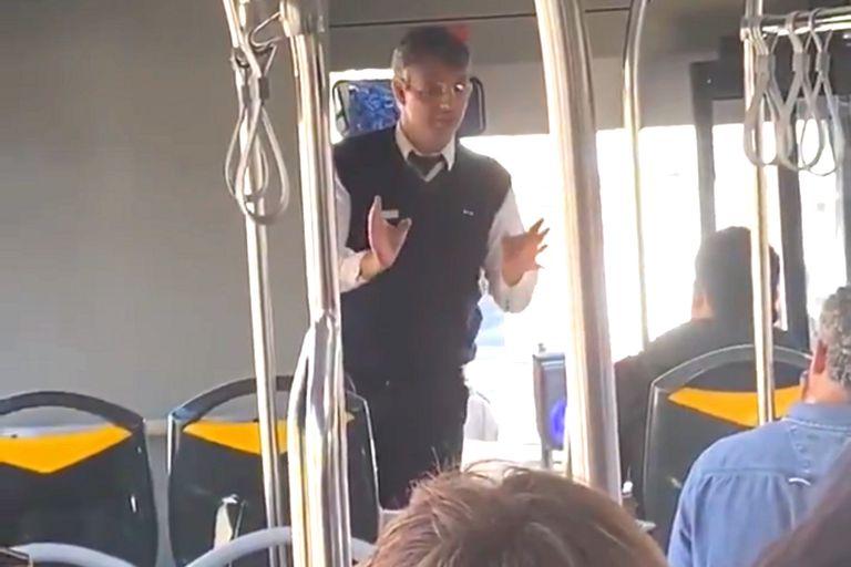 La genial broma del chofer de bus en Portugal sobre Cristiano y Messi