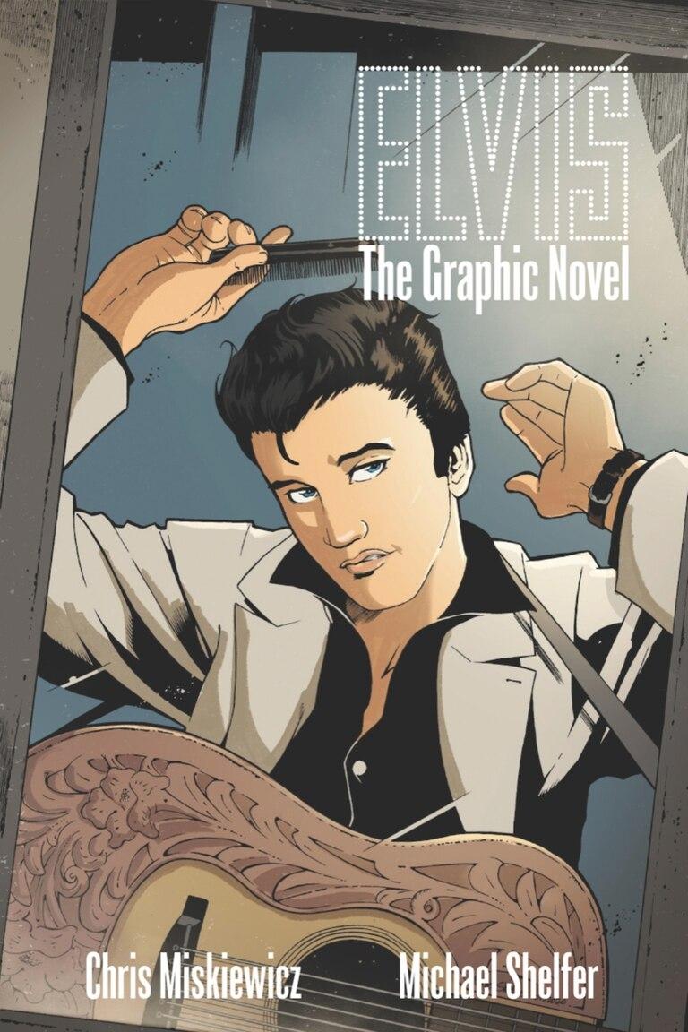 """""""Elvis Presley, La Novela Gráfica"""", el comic que recorre la adolescencia del Rey del Rock and Roll"""