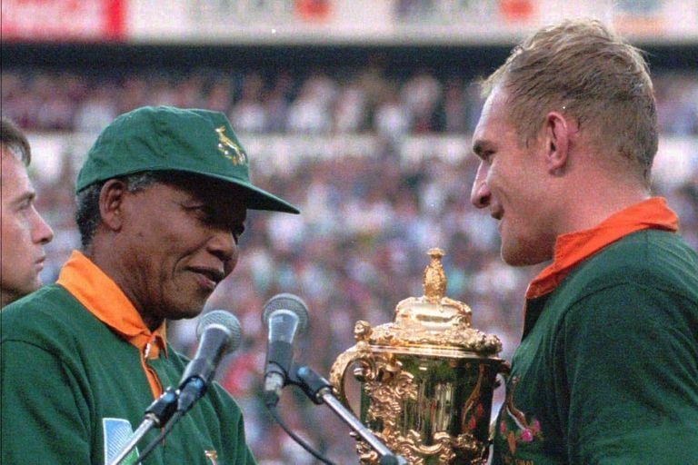 El viejo sueño de Nelson Mandela: los Springboks de la integración