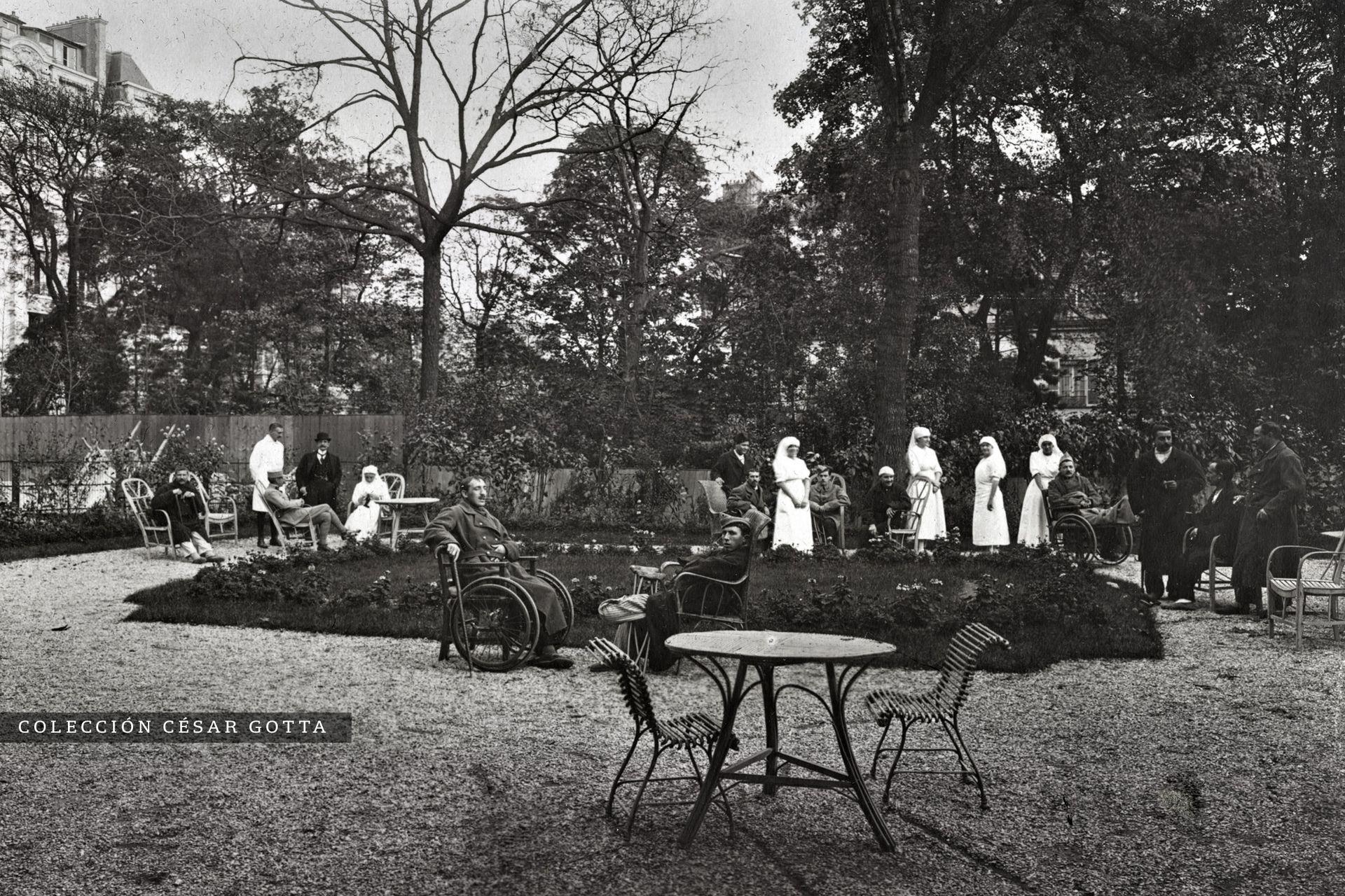 El Jardín del Hospital.
