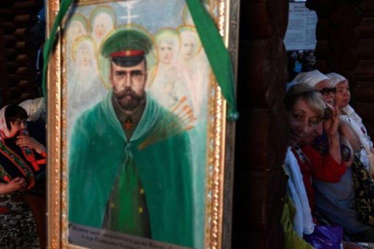 """El zar es visto por algunos como un """"Cristo"""""""