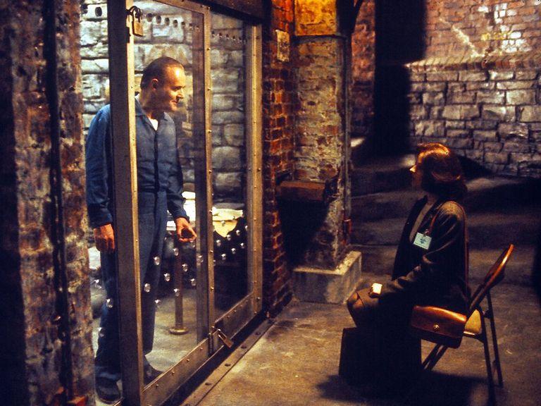 Hannibal Lecter, el temible asesino de ficción quien, como Robert Maudsley, vivía aislado de los demás reclusos por su peligrosidad.