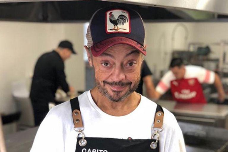 La primera foto de Cabito Massa Alcántara internado en el hospital