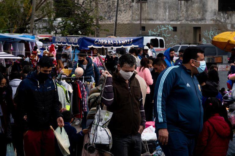 En la feria de Bernal se vende principalmente mercadería usada