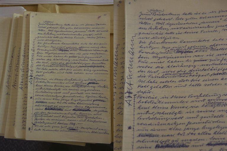 Eichmann escribió un diario en prisión durante el tiempo que duró el proceso y donde justificaba su proceder sin mostrar arrepentimiento alguno