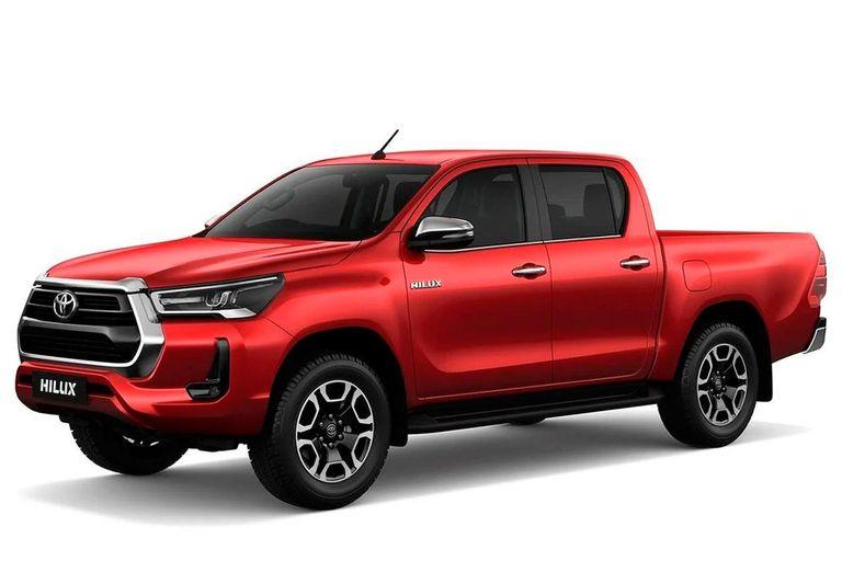 Toyota Hilux. La pickup mediana fue el vehículo más vendido de los últimos cuatro años