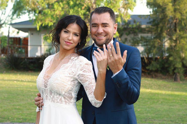 Mercedes Funes. Entramos en su boda con el periodista Cecilio Flematti