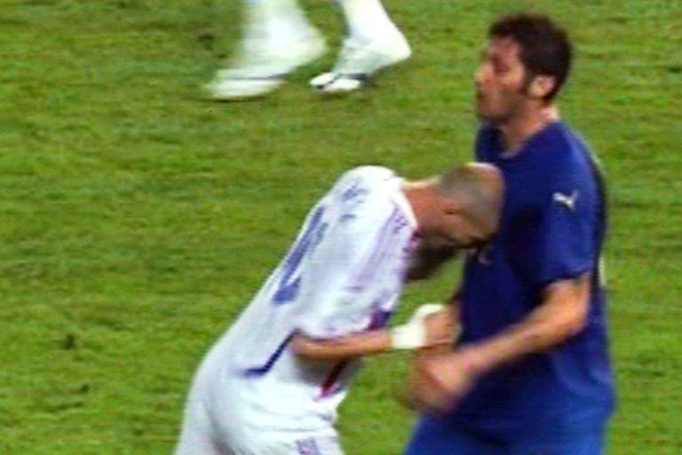 El cabezazo de Zidane a Materazzi