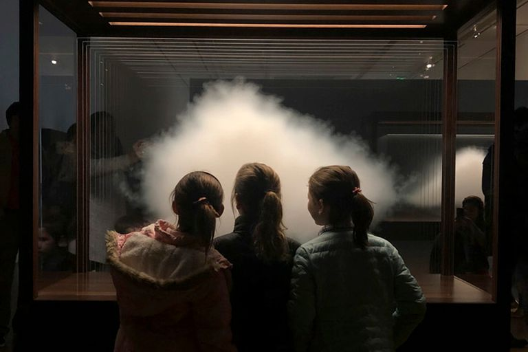 La nube de Leandro Erlich, parte de las actividades virtuales que preparó Malba