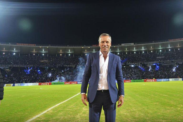 Andrés Fassi, presidente de Talleres, club que criticó la forma en la que la AFA resolvió dar por terminadas las temporadas en todas las categorías y suspender los ascensos.