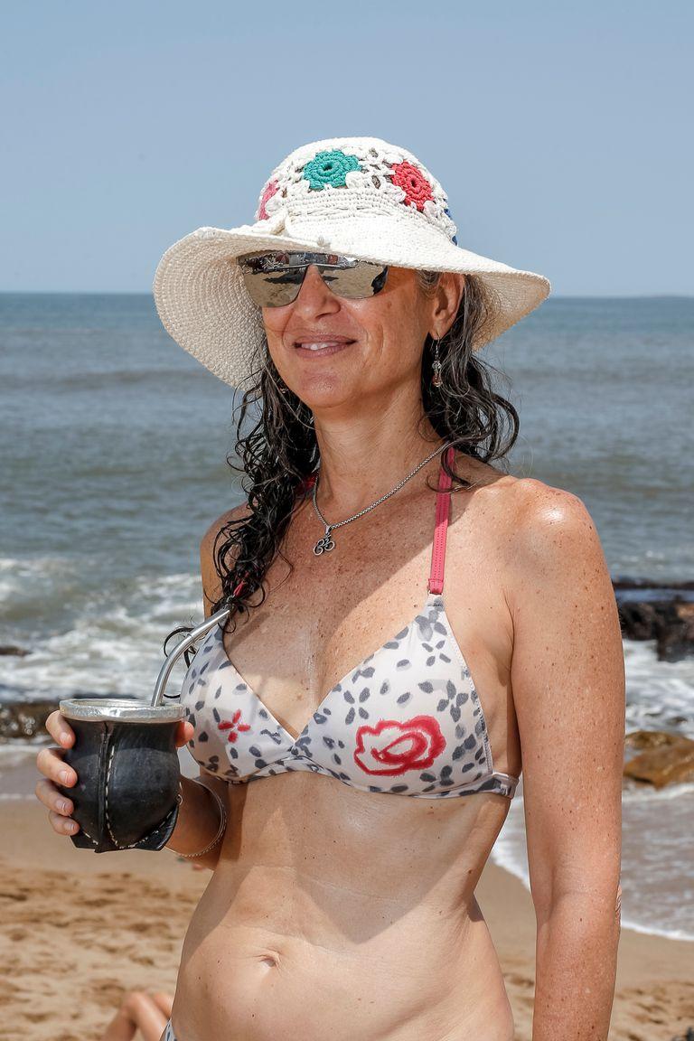 Virginia Francisco contó que una de las primeras cosas que guarda en su valija cuando está por viajar a Uruguay es la yerba argentina