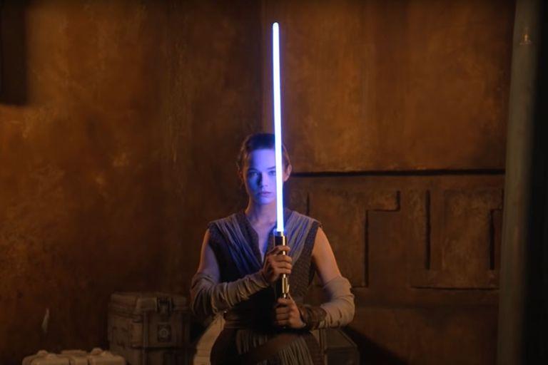 El sable láser que se verá en el hotel temático de Star Wars